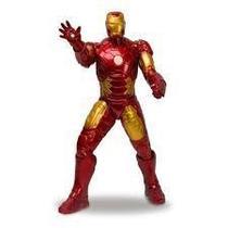 Boneco homem de ferro revolution vinil gigante 45 cm articulado original avengers - Mimo