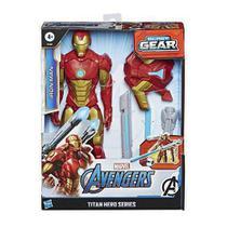 Boneco Homem De Ferro Titan Hero Blast Gear Marvel Hasbro E73805 -