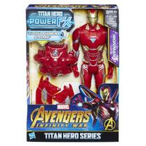 Boneco Homem De Ferro Vingadores Power Fx Pack E0607 - Hasbro