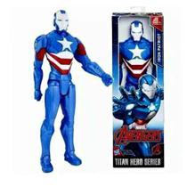 Boneco Homem Patriota De Ferro Titan Hero 30 Cm Hasbro -