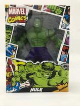 Boneco Hulk Comics gigante Marvel 45 cm Mimo -