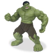 Boneco hulk gigante 50cm articulado vinil linha premium mimo presente menino -