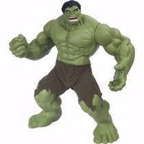 Boneco Hulk Gigante 55cm Verde Premium Marvel Mimo Brinquedo -