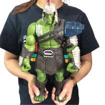 Boneco Hulk Gladiador Thor Ragnarok 35cm Avengers Vingadores Action Figure - Marvel