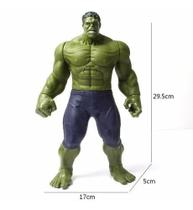 Boneco Hulk Heróis Avengers 30cm Musical Luz - ConnectCell