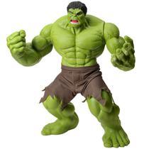 Boneco Hulk Verde Premium 55 Cm Marvel Gigante Mimo -