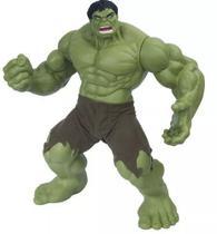 Boneco Hulk Verde Premium Gigante 55 Cm Articulado - Mimo