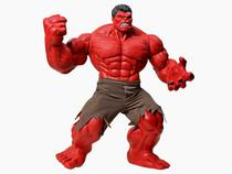 Boneco Hulk Vermelho Premium Gigante - Mimo - Disney -