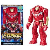 Boneco HulkBuster Articulado Led Som 30cm - Avengers