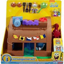 Boneco Imaginext Bob Castelo Siri Cascudo Mattel Dhv83 - Fisher Price