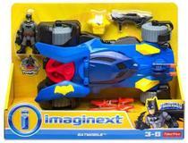 Boneco imaginext dc super batmovel dht64 - Mattel