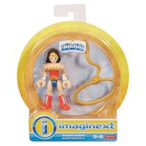 Boneco Imaginext Super Amigos DC Comics Mulher Maravilha - DRY32  Mattel - Fisher Price - Fisher-price