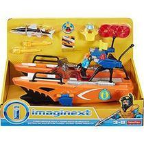 Boneco Imaginext Super Barco - Mattel -