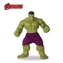 Boneco incrivel hulk revolution vinil gigante 45cm articulado original avengers - Mimo