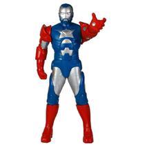 Boneco Iron Man Patriot Gigante Premium - Mimo