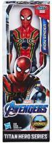 Boneco Iron Spider 30 Cm Avengers Vingadores E3844 / E3308 - Hasbro -