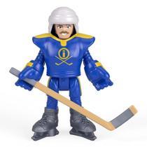 Boneco Jogador de Hockey e Acessório 8 cm Imaginext  Mattel -
