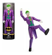 Boneco Joker- Coringa 30 Cm 11 Pontos de Articulção DC 2180 - Sunny