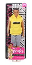 Boneco Ken Barbie Fashionista 131 New York DWK44/GDV14 - Mattel -