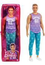 Boneco Ken - Barbie Fashionista - GRB89 - Modelo 164 Mattel -