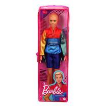 Boneco Ken Barbie Fashionista Roupa Colorida 163 Mattel -