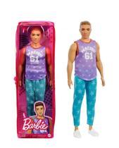 Boneco Ken Barbie Fashionistas - Mattel DKW44 -