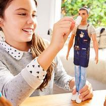 Boneco Ken Barista - Ken Profissões - Barbie - Mattel -