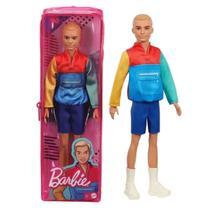 Boneco Ken Da Barbie Fashionistas Moletom Colorido Mattel -