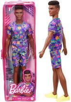 Boneco Ken Fashionista Moreno Negro - Número 162 - Namorado Da Boneca Barbie - Mattel -