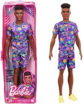 Boneco Ken Fashionista Negro  cabelo afro 162 - Mattel