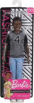 Boneco Ken Fashionista Negro - Modelo 130 -Mattel -