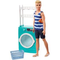 Boneco Ken Lavanderia - Acessórios e Móveis Barbie - Mattel -