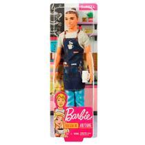 Boneco ken profissões barista fxp03 - Mattel