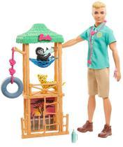 Boneco Ken Profissões - Vetérinario - Mattel