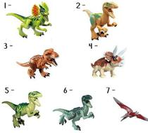 Boneco Lego Dinossauros Jurassic World Park Minifigures -