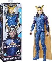 Boneco Loki 30cm - Thor Ragnarok - Titan Hero Marvel Hasbro -