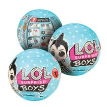 Boneco lol - boys surprise - kit 3 pcs - Lol Surprise