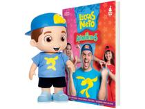Boneco Luccas Neto 27cm - Rosita + Livro Luccas Neto em os Aventureiros