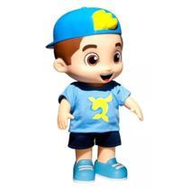 Boneco luccas neto azul que fala 14 frases - Rosita