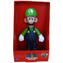 Boneco Luigi - Super Mario Bros Grande Kart 64 Original - Super Size Figure Collection