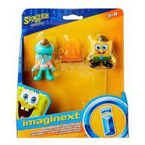 Boneco Lula Molusco  Bob Esponja Imaginext Mattel Brinquedos -