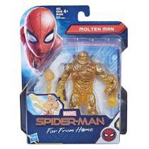 Boneco Magma - Molten Man - Homem Aranha Longe de Casa E4121 - Hasbro E3549 -