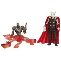 Boneco Marvel Avengers - Age of Ultron 6,35 cm - Thor vs Sub-Ultron 005 - Hasbro -