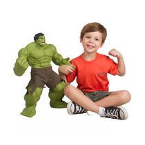 Boneco Marvel Hulk Verde Premium Gigante Mimo -