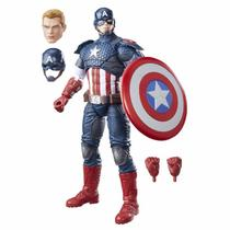 Boneco Marvel Legends Series Captain America Hasbro B7433