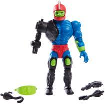 Boneco masters of the universe origins - motu - trap jaw mandíbula - inimigo do he-man - 14 cm - Mattel