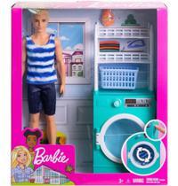Boneco Mattel Barbie Ken e Mobilia - FYK51/FYK52 -