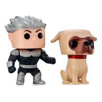 Boneco Menino E Cachorro Spike E Dog - Adijomar -