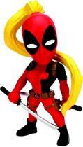 Boneco Metal DTC 10 Cm Marvel Girls - Lady Deadpool -