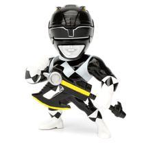 Boneco Metal DTC 10 cm Power Ranger - Black Ranger - Power rangers - classic